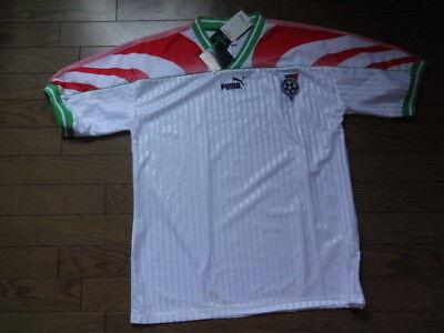 Bulgaria 100% Original Soccer Jersey Shirt 1995 Home Kit M Puma Still NWT  image