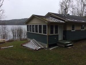 2 chalets à vendre lac d'Argile, Val-des-Bois