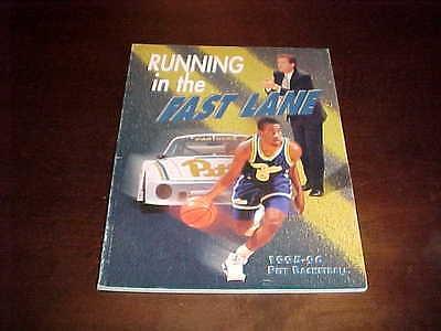 1995 Pitt Panthers Basketball Media Guide