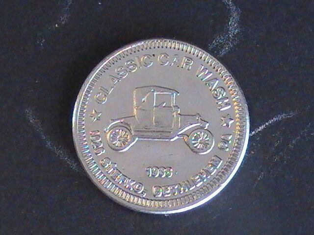 TOKEN 1986 Token Classic Car Wash Bethlehem