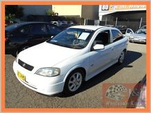 2003 Holden Astra TS SXI White 4 Speed Automatic Hatchback Warwick Farm Liverpool Area Preview