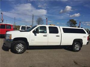 2011 Chevrolet Silverado 2500HD Crew Cab, 8Ft. Box, 4x4