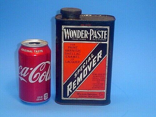 VINTAGE WONDER PASTE PAINT AND VARNISH REMOVER CAN