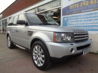 Land Rover Range Rover Sport 3.6TD V8 auto 2007 HSE 4x4 Full S/H 9 stamps