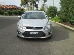 2010 Ford Mondeo MB LX Tdci Silver 6 Speed Direct Shift Hatchback Hoppers Crossing Wyndham Area Preview