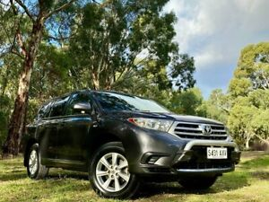 2012 Toyota Kluger GSU45R MY12 KX-R AWD Grey 5 Speed Sports Automatic Wagon
