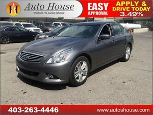 2012 Infiniti G37X Sedan Luxury NAVIGATION 90 DAYS NO PAYMENTS