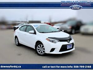2014 Toyota Corolla LE AUTO HEATED SEATS BLUETOOTH BACKUP CAMERA