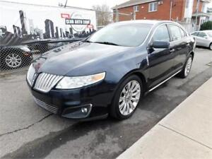 LINCOLN MKS AWD 2009 ( NAVIGATION, BLUETOOTH, TOIT PANORAMIQUE )