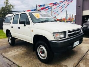 2001 Toyota Hilux RZN169R (4x4) 5 Speed Manual 4x4 Dual Cab Pick-up Brooklyn Brimbank Area Preview