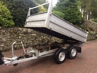 TIPPING TRAILER 5FT x 9FT BED