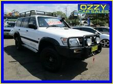 1999 Nissan Patrol GU ST (4x4) White 5 Speed Manual 4x4 Wagon Penrith Penrith Area Preview