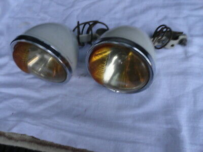 vintage car headlights for sale  Shipping to South Africa