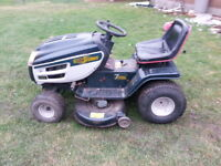 Yardworks Riding Lawn Mower