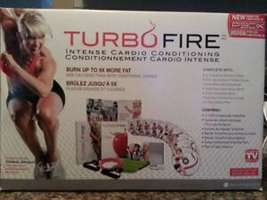 brand new-turbo fire home work out dvds