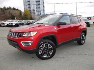 2017 Jeep COMPASS Trailhawk (2.4L, LEATHER, NAVIGATION, PANORAMI