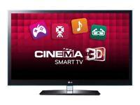 """LG 42LW650 42"""" Full HD 1080p Freeview HD LED 3D Smart TV + 3D glasses"""