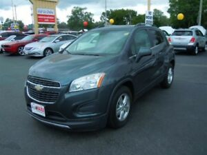 2013 CHEVROLET TRAX 1LT - LEATHER INTERIOR, ONSTAR, BLUETOOTH, C