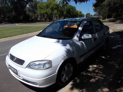 2001 Holden Astra Automatic Sedan