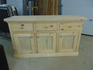 Unfinished Canadian Made Buffet for Sale