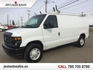 2009 Ford E-250 Cargo Van w/ service shelving and ladder rack!