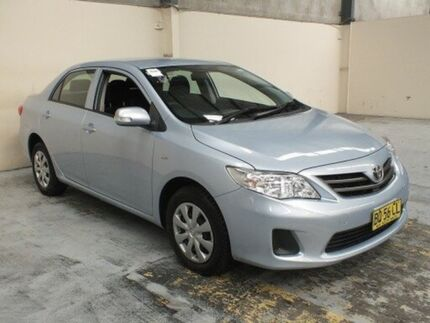 2012 Toyota Corolla ZRE152R MY11 Ascent Shimmer 4 Speed Automatic Sedan Gateshead Lake Macquarie Area Preview