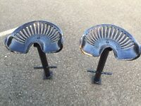 pair of tractor seats( pierces wexford)