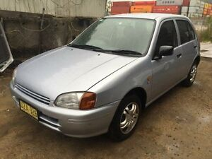 1998 Toyota Starlet EP91R Life Silver 3 Speed Automatic Hatchback Jewells Lake Macquarie Area Preview