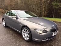 2005 T BMW 6 SERIES 4.4 645CI 2D 329 BHP