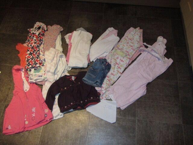 GIRLS CLOTHES BUNDLE 9 - 12 MONTHS