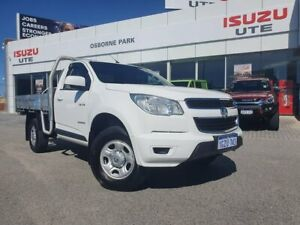 2014 Holden Colorado RG MY14 LX 4x2 White 6 Speed Sports Automatic Cab Chassis Osborne Park Stirling Area Preview