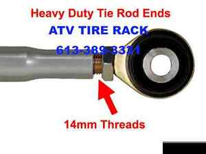 Can-Am Maverick Heavy Duty Rack & Pinion Rack Boss ATV TIRE RACK Kingston Kingston Area image 2