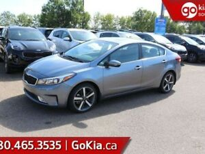 2017 Kia Forte EX LUXURY; SUNROOF, LEATHER, BACKUP CAMERA, HEATE