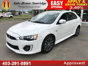 2017 Mitsubishi Lancer Sportback SE LTD BACK CAMERA