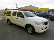 2012 Toyota Hilux SR SR White 4 Speed Automatic Dual Cab Reynella Morphett Vale Area Preview
