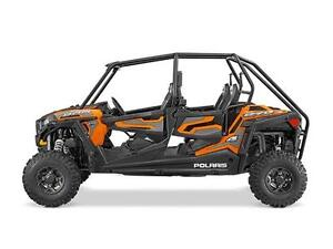 POLARIS RZR 4 900 EPS ORANGE SPECTRA 2016 DEMO