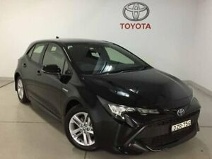 2018 Toyota Corolla ZWE211R Ascent Sport E-CVT Hybrid Black 10 Speed Constant Variable Hatchback Chatswood Willoughby Area Preview