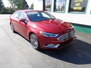 2017 Ford Fusion SE AWD Loaded for only $178 bi-weekly all in!