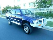 1998 Toyota Hilux LN167R SR5 Blue 5 Speed Manual Utility Redcliffe Redcliffe Area Preview