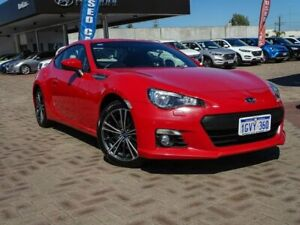 2015 Subaru BRZ Z1 MY15 Red 6 Speed Sports Automatic Coupe