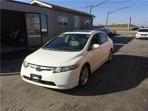 2007 Honda Civic Sdn EX***SUNROOF***MANUAL***GREAT CONDITION London Ontario image 4