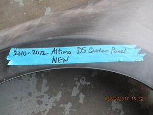 Nissan Altima 2010-2012 Altima Driver Side Quarter Panel NEW