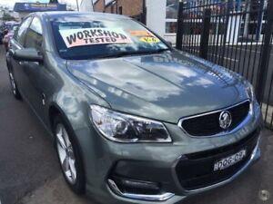 2015 Holden Commodore VF II MY16 SV6 Grey 6 Speed Manual Sedan