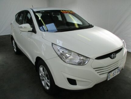 2011 Hyundai ix35 LM MY11 Active (FWD) White 6 Speed Automatic Wagon Invermay Launceston Area Preview