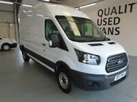 Ford Transit L3 H3 VAN 130PS EURO 6 DIESEL MANUAL WHITE (2017)