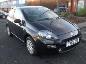 FIAT PUNTO 1.2 EASY 3d 69 BHP IMMACULATE CONDITION (black) 2012