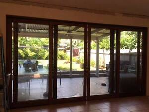 4 panel timber framed sliding door Haberfield Ashfield Area Preview