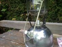Tilly lamp original works well with lots spare mantles