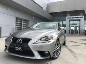 2015 Lexus IS 250 Premium, AWD, One Owner, No Accidents, LOW KM