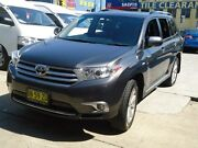 2011 Toyota Kluger GSU40R MY11 Upgrade Grande (FWD) Grey 5 Speed Automatic Wagon Five Dock Canada Bay Area Preview
